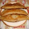 Чебуреки с грибами – рецепт с фото